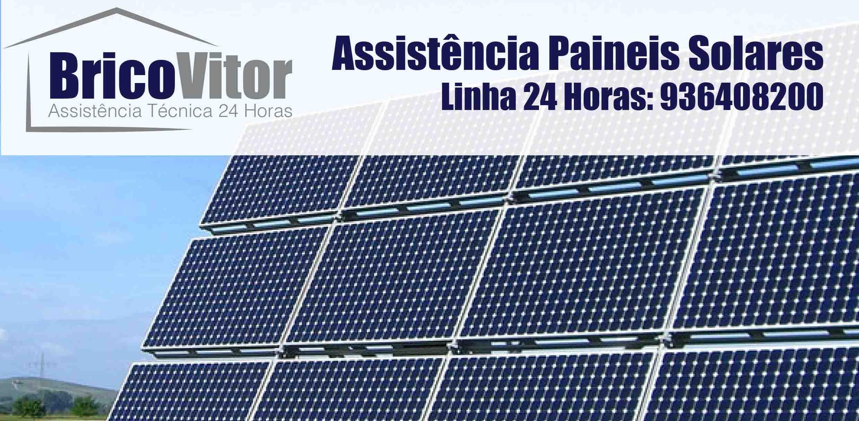 Assistência Painéis Solares Solahart São Mamede,